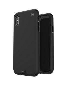 speck-presidio-sport-case-for-iphone-xs-max--nbspblackgunmetal-greyblack