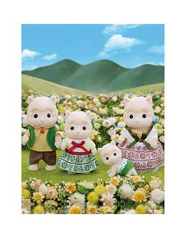 Sylvanian Families Sylvanian Families Wolly Alpaca Family Picture