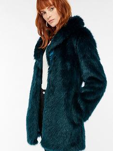 monsoon-freddie-faux-fur-jacket-teal