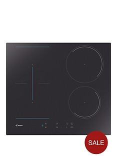 candy-cctp643-60cmnbspbuilt-in-induction-hob-with-optional-installation-black-glass