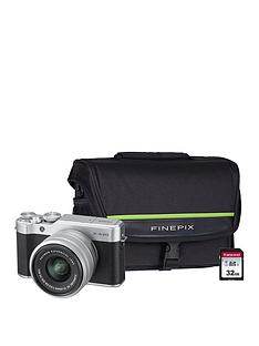 fujifilm-x-a20nbspcamera-xc-with-15-45mm-silver-lens-kit-and-optional-bundle--nbspsilver