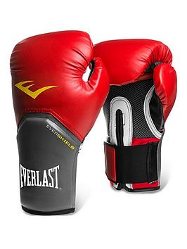 Everlast   Boxing 12Oz Pro Style Elite Training Glove - Red