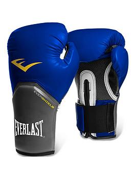 Everlast    Boxing 14Oz Pro Style Training Gloves &Ndash; Blue