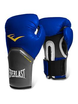 Everlast   Boxing 16Oz Pro Style Elite Training Glove - Blue