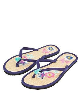 accessorize-embroidered-flower-seagrassnbsp--navy