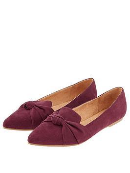 accessorize-mayfair-knot-point-burgundy