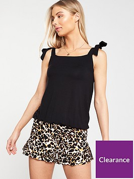v-by-very-tall-strappy-bubble-hem-top-black