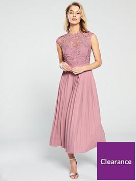 little-mistress-crochet-top-pleated-skirt-midaxi-dress-blush