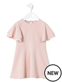 river-island-mini-mini-girls-pink-frill-skater-dress