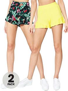 v-by-very-2-pack-ruffle-shorts