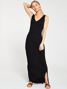 v-by-very-wrap-split-jersey-maxi-dress-black
