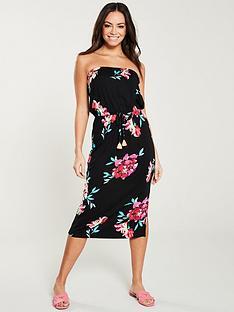 v-by-very-tube-midi-dress-floral-print