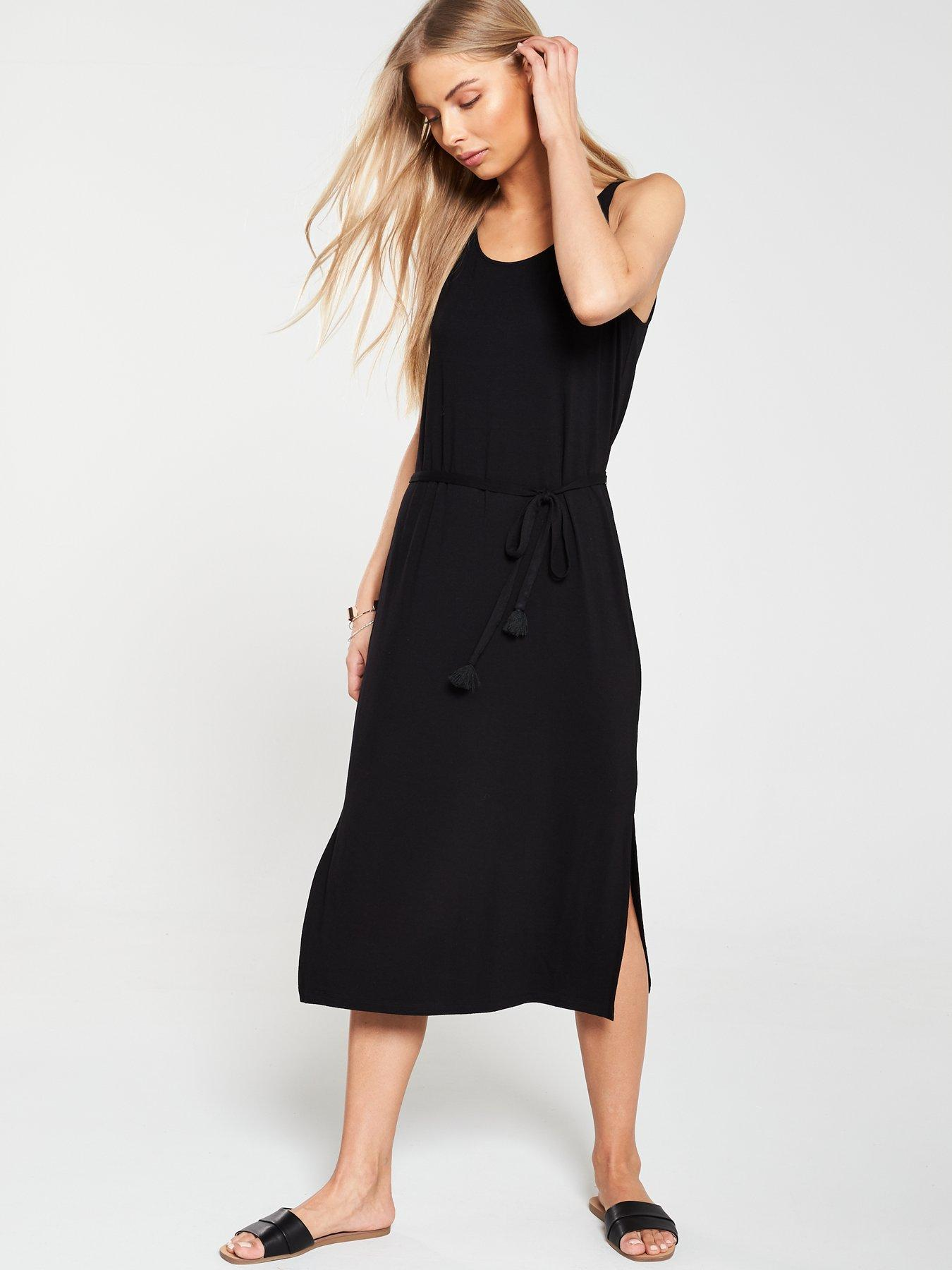 df1f5c6cec6 Missguided Maternity Flute Sleeve Dress Black UK 8 rrp £30 Clothes ...
