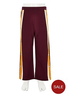 river-island-girls-burgundy-popper-side-jogger-trousers