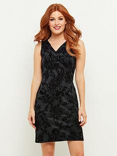 joe-browns-fancy-flocked-dress