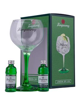 tanqueray-london-dry-gin-2x5cl-copa-glass-gift-pack