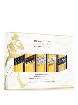 Very Johnnie Walker Whisky 5X5Cl Miniature Taster Set Picture