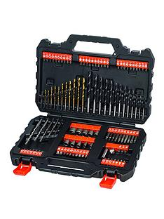 black-decker-blackdecker-109pc-drill-bit-set
