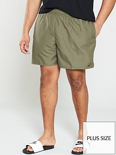 nike-swim-plus-size-solid-lap-5-inch-swim-shortsnbsp--olive