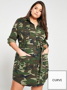 v-by-very-curve-camo-print-utility-shirt-dress-camouflage