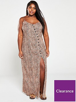 v-by-very-curve-strappy-printed-maxi-dress-animal-print
