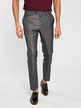 v-by-very-slim-fit-fleck-trouser-charcoal