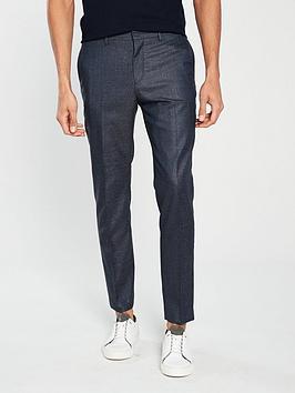 v-by-very-regular-fit-fleck-trouser-navy