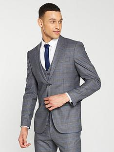 v-by-very-regular-fit-check-suit-jacket-grey