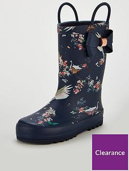e8d89be211fc Baker by Ted Baker Girls Unicorn wellington Boot
