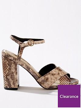 miss-selfridge-cross-over-block-heel-sandals-snake