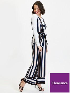 miss-selfridge-petite-stripe-tie-waist-wide-leg-jumpsuit-black
