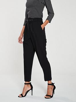 oasis-peg-trouser-black