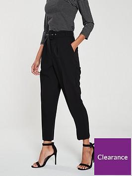 oasis-peg-trouser-black