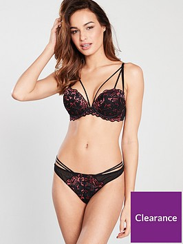 ann-summers-tayla-triple-boost-plunge-red-and-black