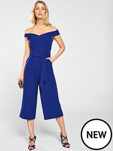 oasis-bardot-jumpsuit-blue