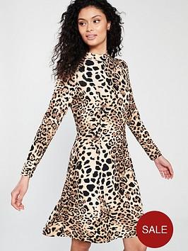 wallis-leopard-swing-dress
