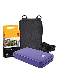 kodak-kodak-mini-2-instant-printer-purplenbspwith-optional-extra