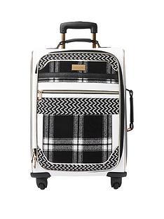 river-island-mono-check-suitcase