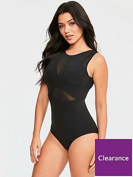 figleaves-mesh-shaping-swimsuit-black