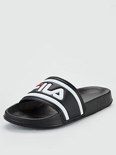 fila-morro-bay-slider-black-white