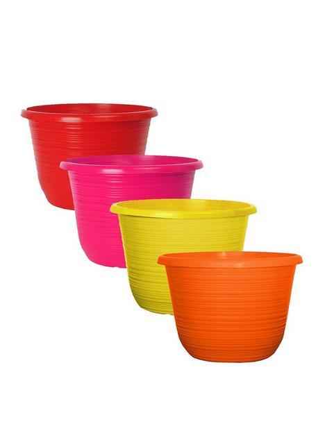 set-of-4-bellagio-coloured-10-inch-planters