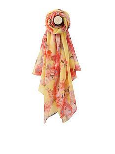 joules-joules-lemon-floral-long-line-woven-scarf