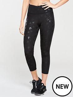 michelle-keegan-tonal-animal-cropped-gym-leggings-black
