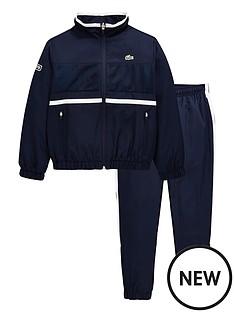 lacoste-sports-boys-taffeta-tracksuit-navy