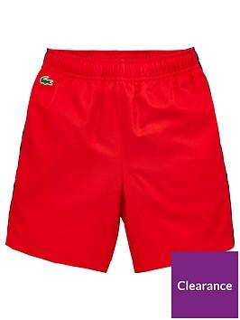 lacoste-sports-boys-crocodile-shorts