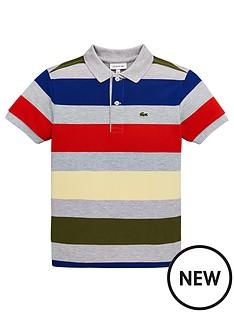 lacoste-boys-short-sleeve-bold-stripe-pique-polo-shirt-grey-multi
