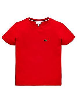d54412294550 Lacoste Boys Classic Short Sleeve T-Shirt