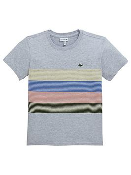 lacoste-boys-short-sleeve-stripe-t-shirt-grey