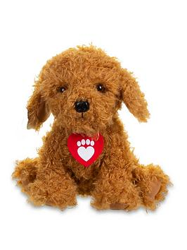 Waffle the Wonderdog  Waffle The Wonderdog Waffle The Wonderdog Soft Toy With Sounds