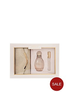 sarah-jessica-parker-sarah-jessica-parker-lovely-100ml-edp-10ml-rollerball-gold-clutch-bag-gift-set